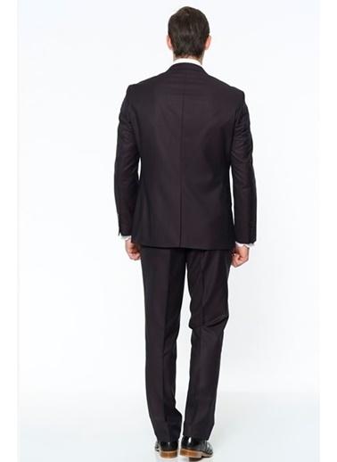 Comienzo Takım Elbise Bordo